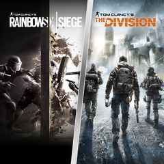 PACK TOM CLANCY'S RAINBOW SIX SIEGE + THE DIVISION