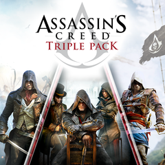 Triple pack Assassin's Creed  : Black Flag, Unity, Syndicate