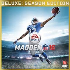 Madden NFL 16 Deluxe Edition Saison