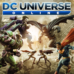 DC Universe Online with Electricity Power Set