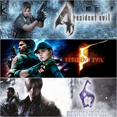 Pack Triplé gagnant Resident Evil