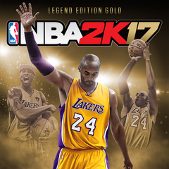 NBA 2K17 Kobe Bryant Legend Edition Or