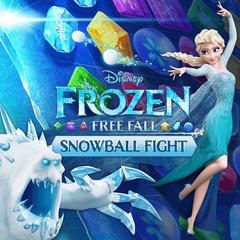 La Reine des Neiges Free Fall  : Bataille de boules de neiges
