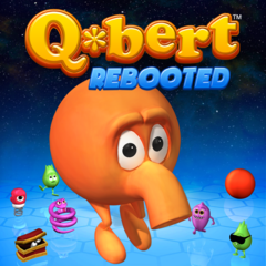 A Q*bert : Rebooted/Pixels Game and Theme Bundle