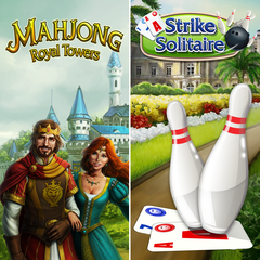 Mahjong Royal Towers & Strike Solitaire