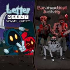 Letter Quest/Paranautical Activity Bundle
