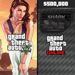 Grand Theft Auto V & Bull Shark Cash Card Bundle