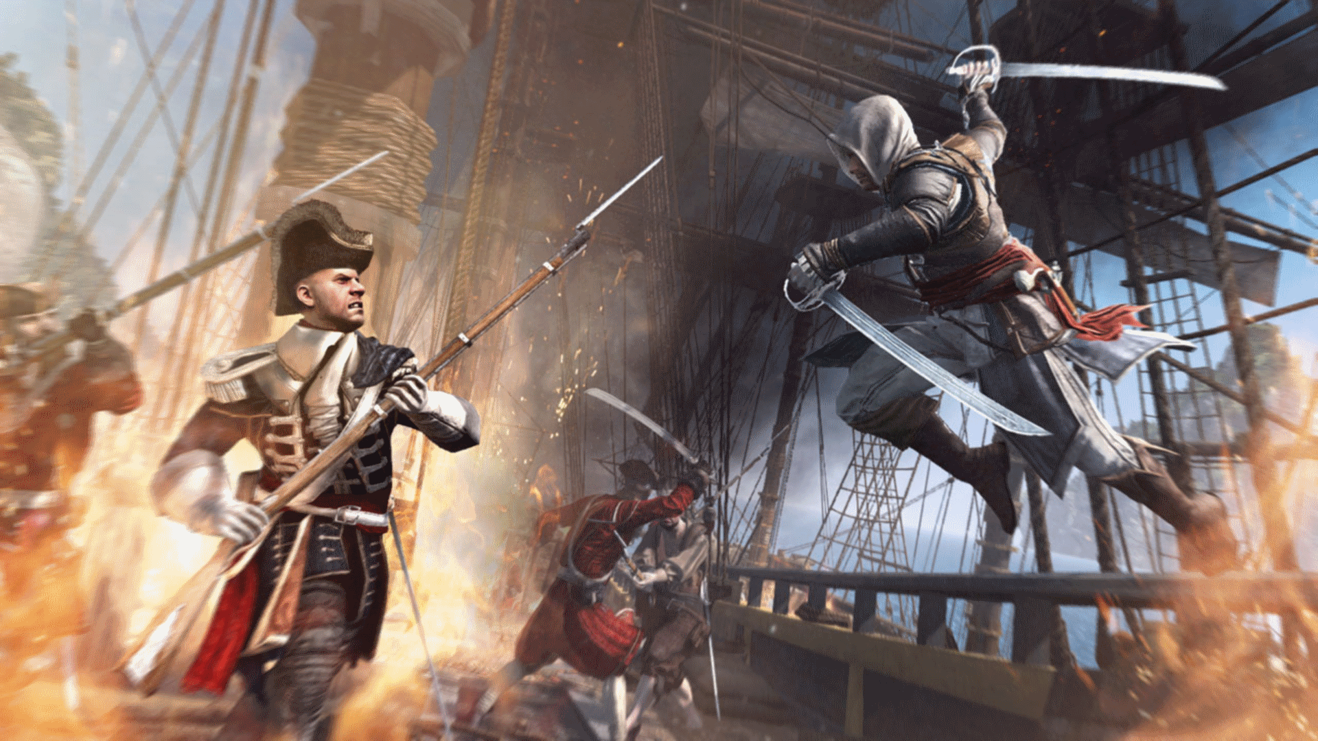 Assassin's Creed IV Black Flag - Standard Edition скриншот 7