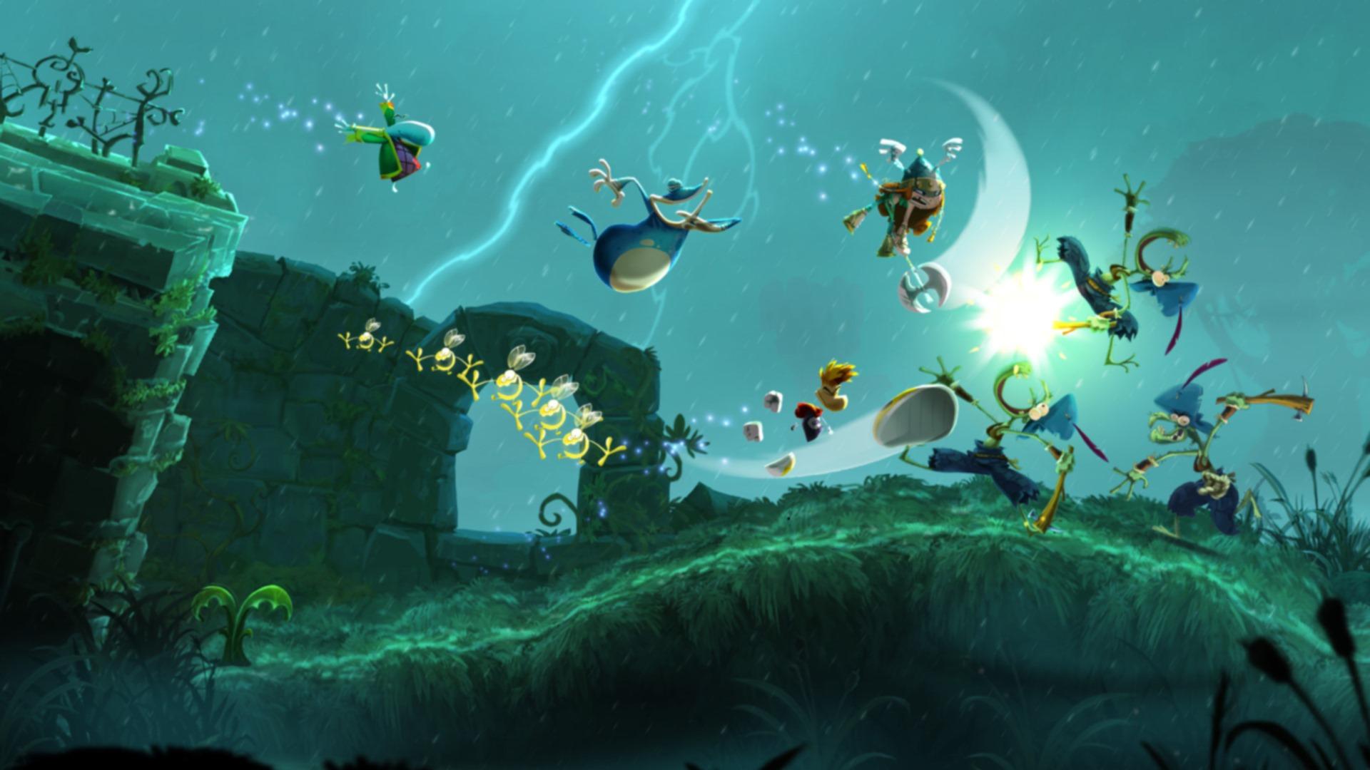 Скриншот №2 к Rayman Legends