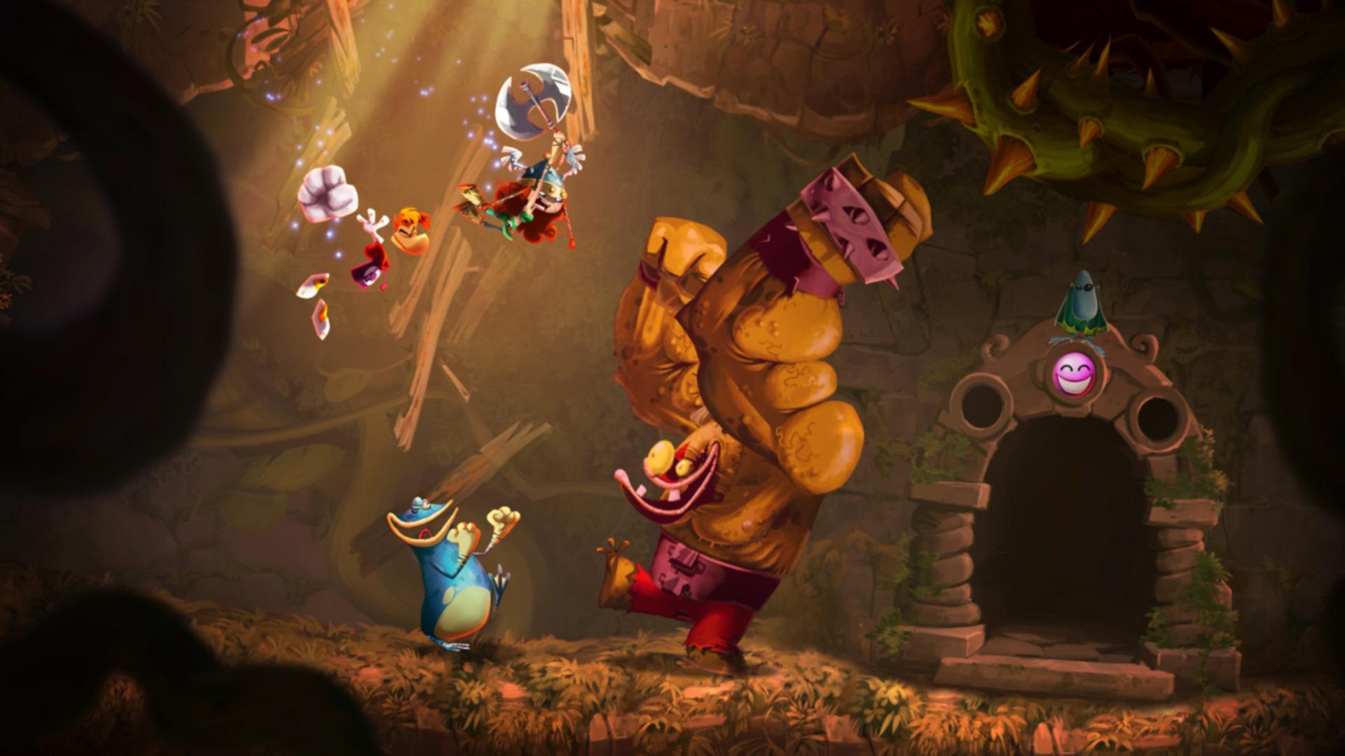 Скриншот №1 к Rayman Legends