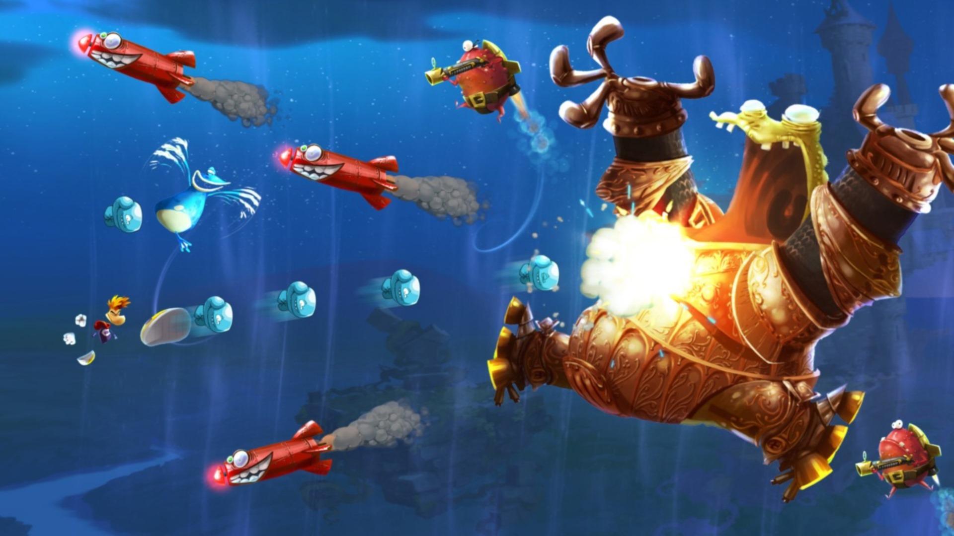 Скриншот №10 к Rayman Legends