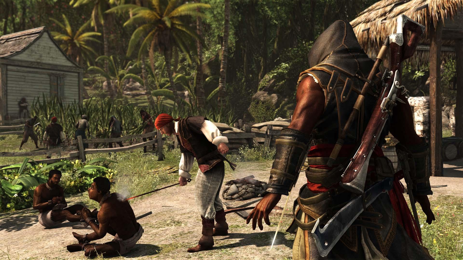 Скриншот №10 к Assassins Creed Freedom Cry