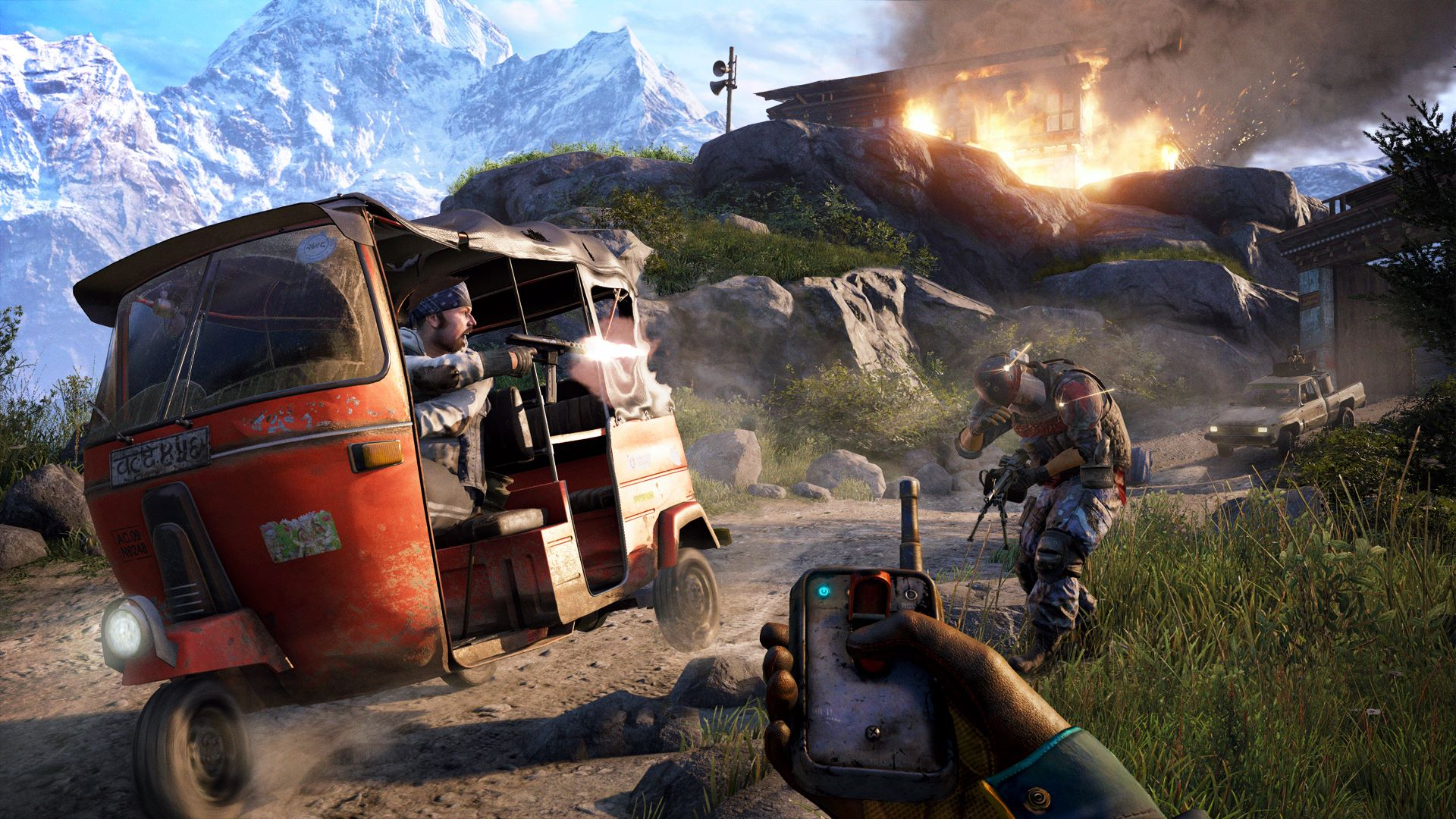 Скриншот №3 к Far Cry 4 - Gold Edition