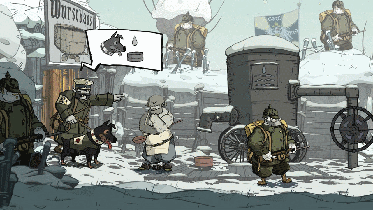 Скриншот №6 к Valiant Hearts The Great War