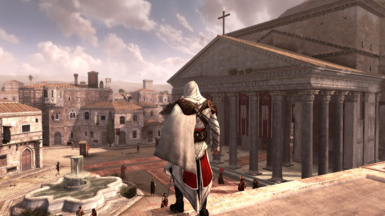 Скриншот №3 к Assassins Creed The Ezio Collection