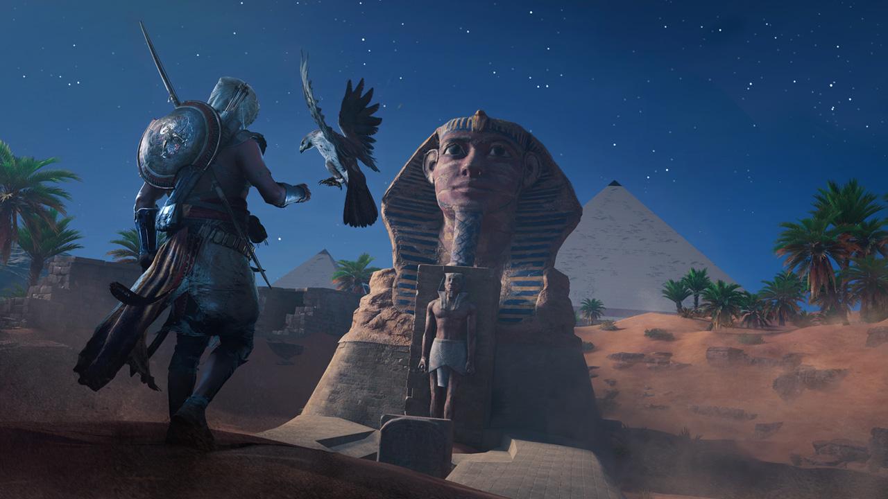 Скриншот №4 к Assassins Creed Истоки - GOLD EDITION