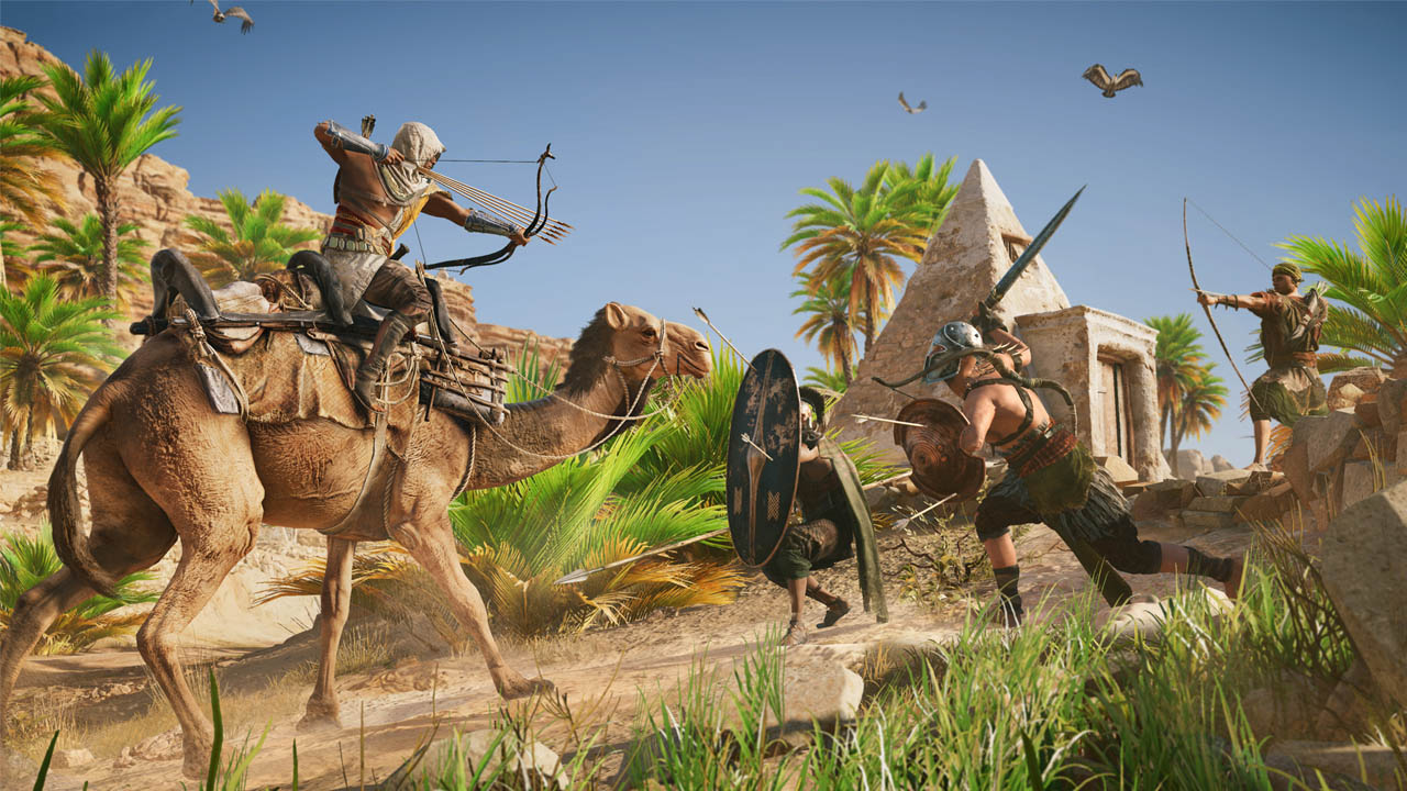 Скриншот №2 к Assassins Creed Истоки - DELUXE EDITION