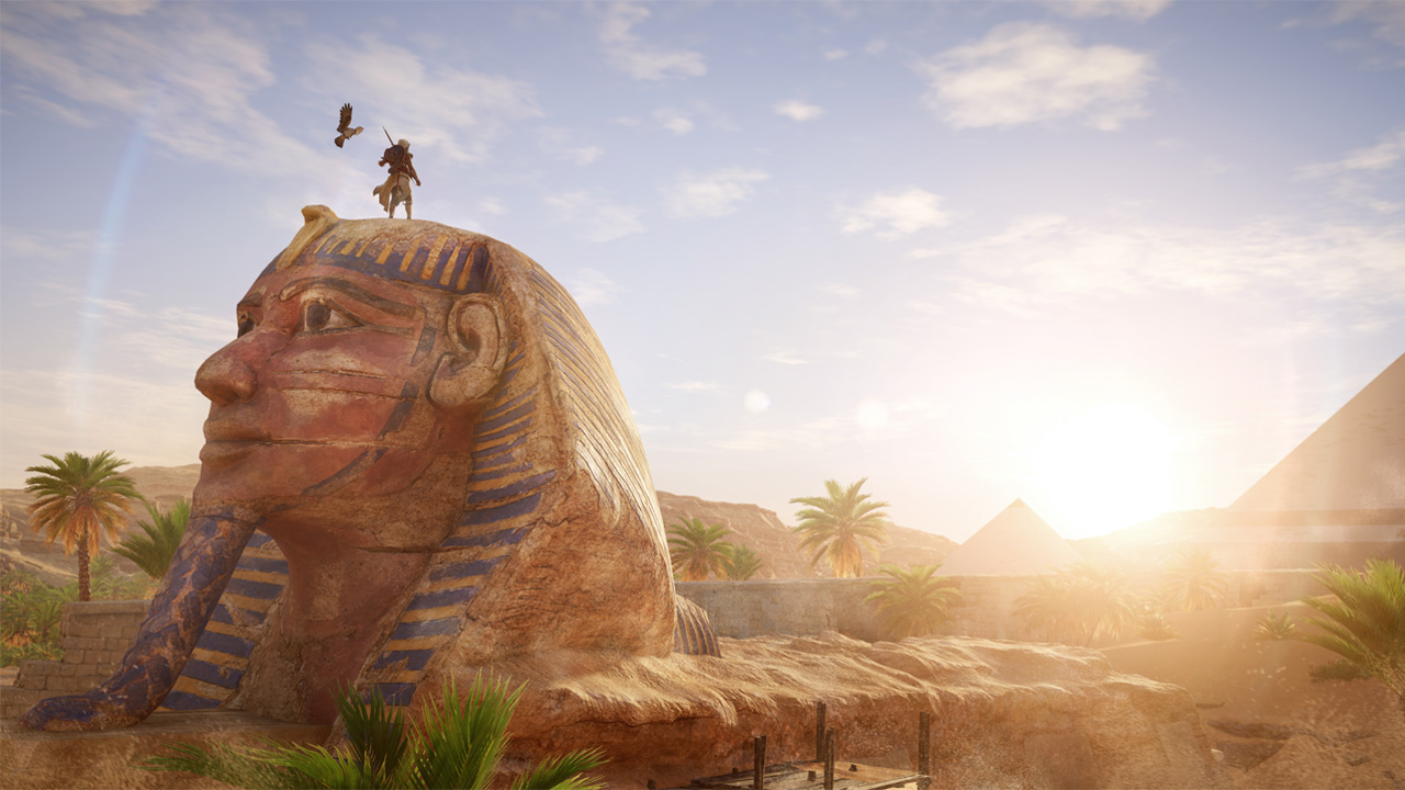 Скриншот №1 к Assassins Creed Истоки - GOLD EDITION
