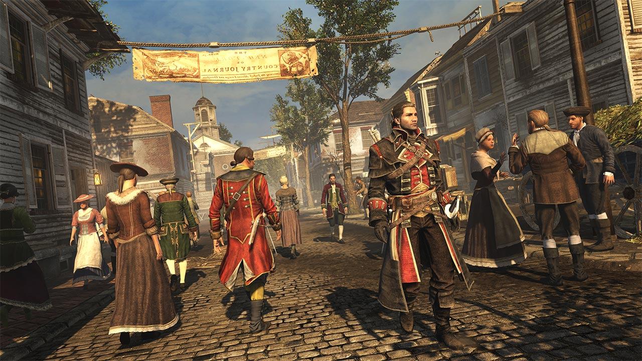 Скриншот №3 к Assassins Creed Изгой. Обновленная версия
