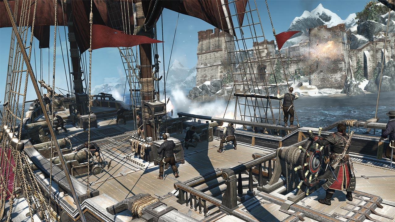 Скриншот №4 к Assassins Creed Изгой. Обновленная версия