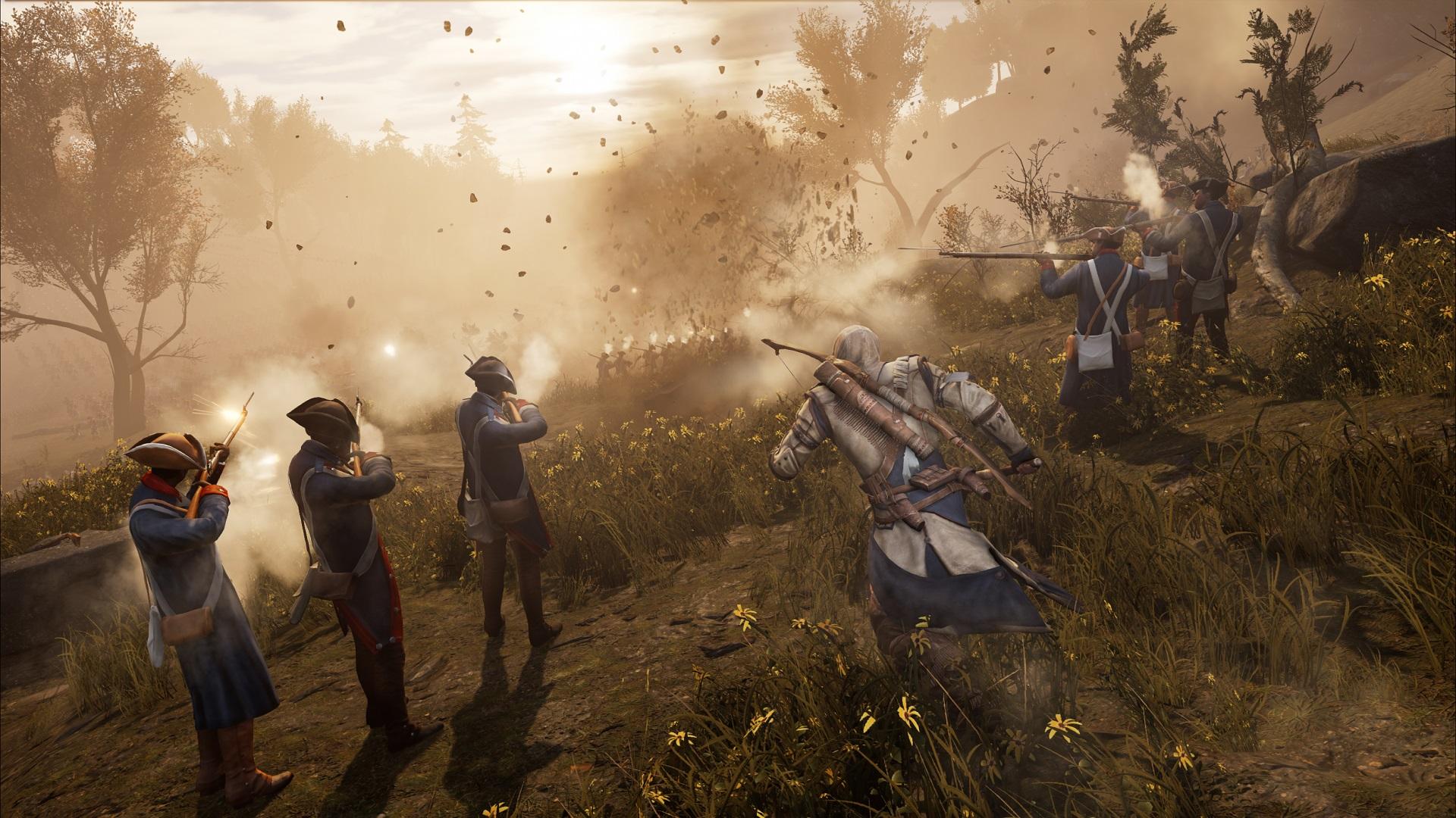 Скриншот №5 к Assassins Creed III Remastered