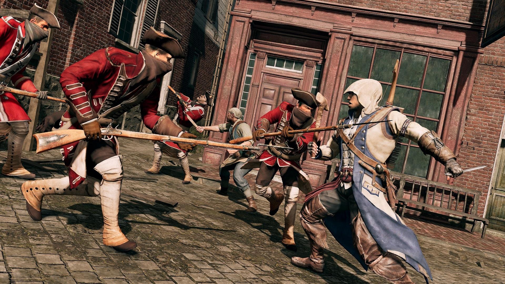 Скриншот №1 к Assassins Creed III Remastered