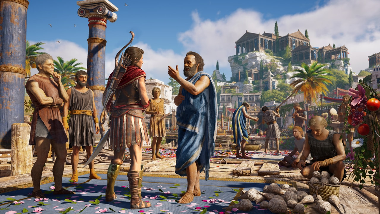 Скриншот №1 к Assassins Creed Одиссея– ULTIMATE EDITION