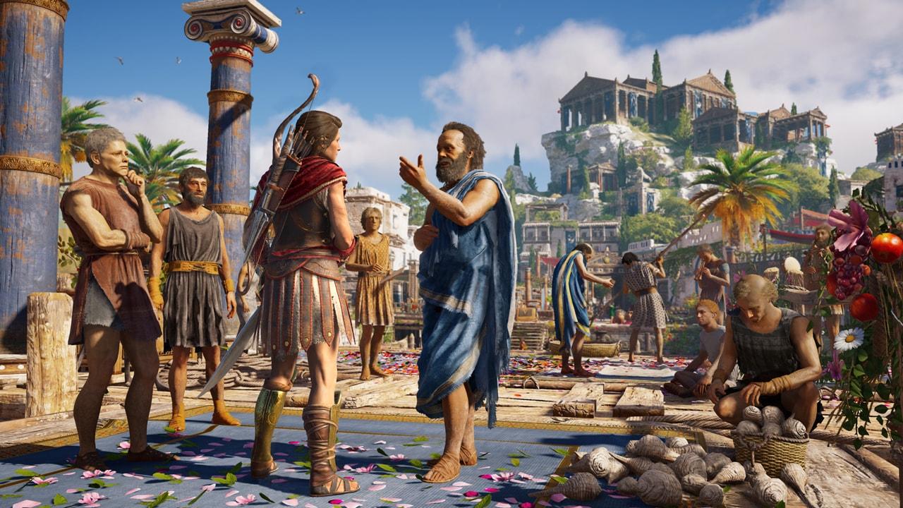 Скриншот №1 к Assassins Creed Одиссея– GOLD EDITION