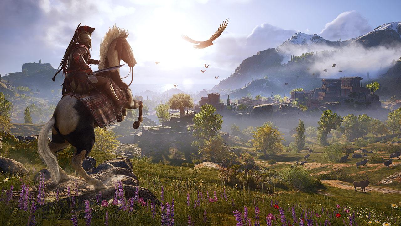 Скриншот №4 к Assassins Creed Одиссея– GOLD EDITION