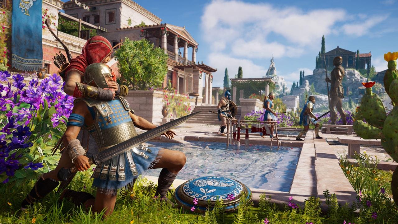 Скриншот №2 к Assassins Creed Одиссея– GOLD EDITION