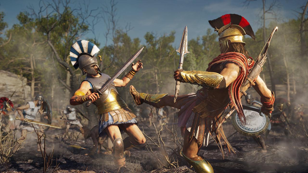 Скриншот №5 к Assassins Creed Одиссея– GOLD EDITION