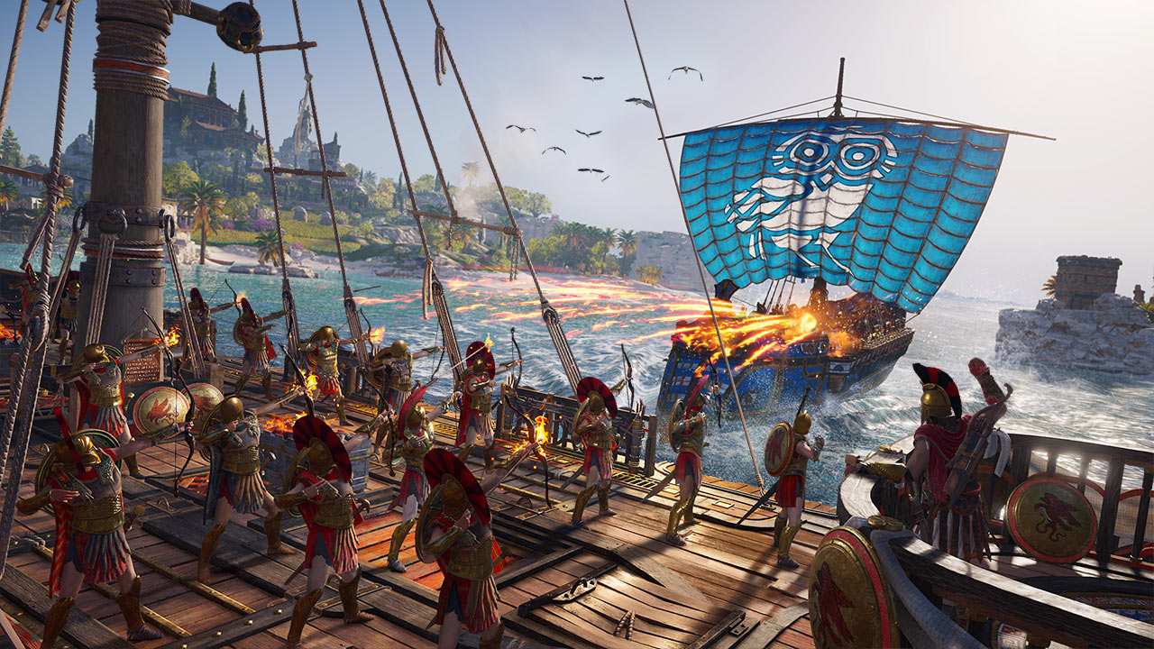 Скриншот №8 к Assassins Creed Одиссея– GOLD EDITION
