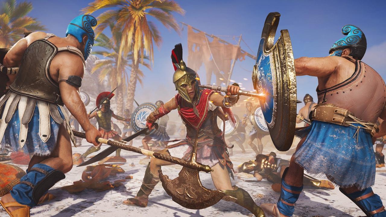 Скриншот №3 к Assassins Creed Одиссея– GOLD EDITION