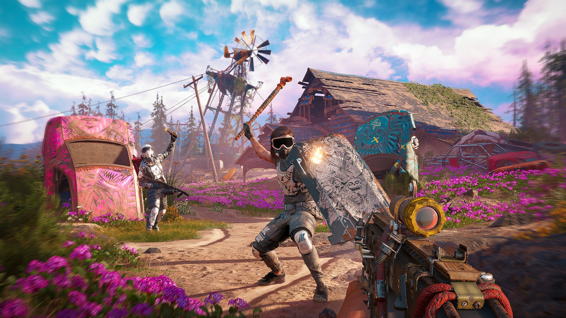 Скриншот №2 к Far Cry New Dawn Deluxe Edition