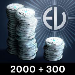 2000 серебряных монет Destiny (+300 бонусных)