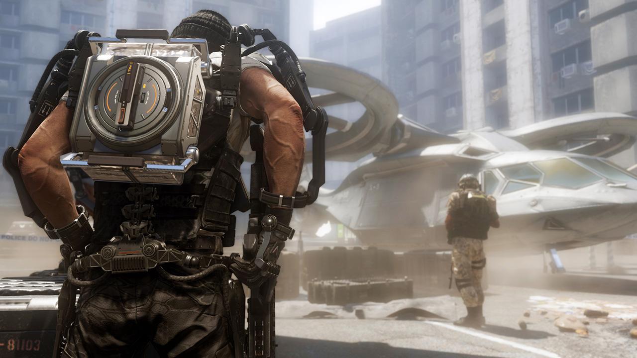 Скриншот №1 к Call of Duty Advanced Warfare