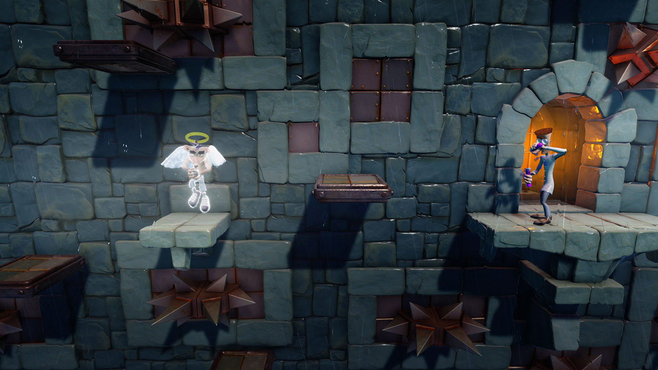 Скриншот №8 к Crash Bandicoot N. Sane Trilogy - эпизод Stormy Ascent