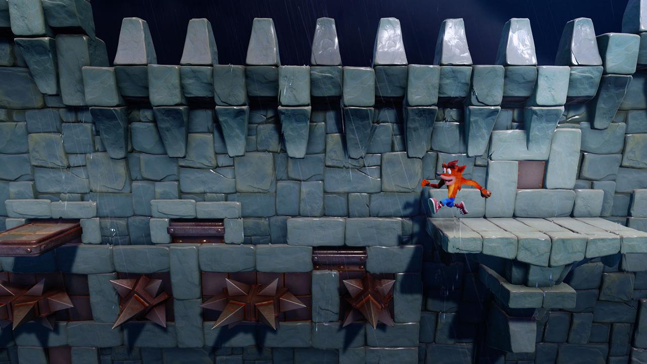 Скриншот №5 к Crash Bandicoot N. Sane Trilogy - эпизод Stormy Ascent