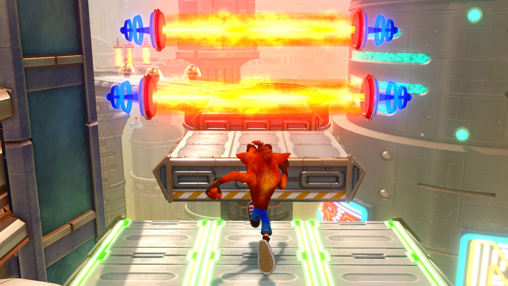 Скриншот №4 к Crash Bandicoot N. Sane Trilogy - эпизод Future Tense