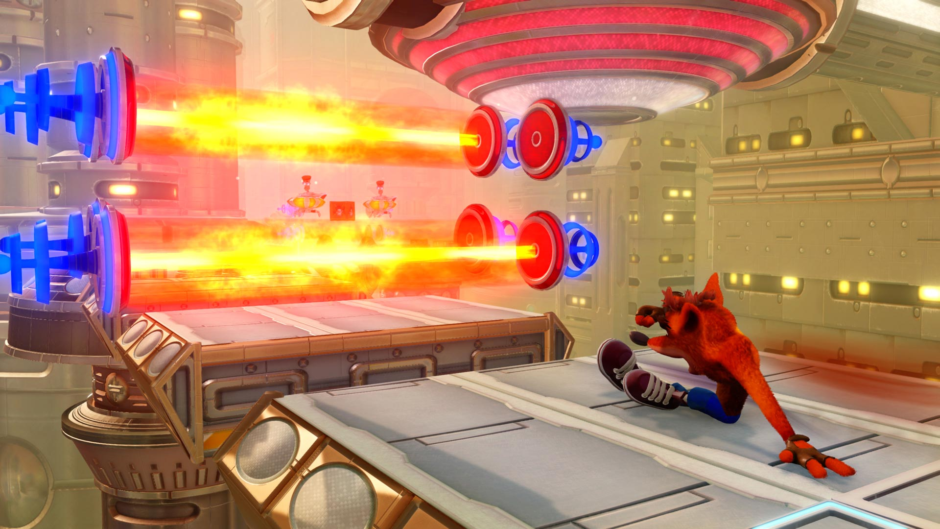 Скриншот №5 к Crash Bandicoot N. Sane Trilogy - эпизод Future Tense