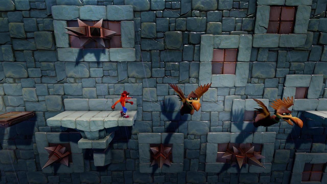 Скриншот №3 к Crash Bandicoot N. Sane Trilogy - эпизод Stormy Ascent