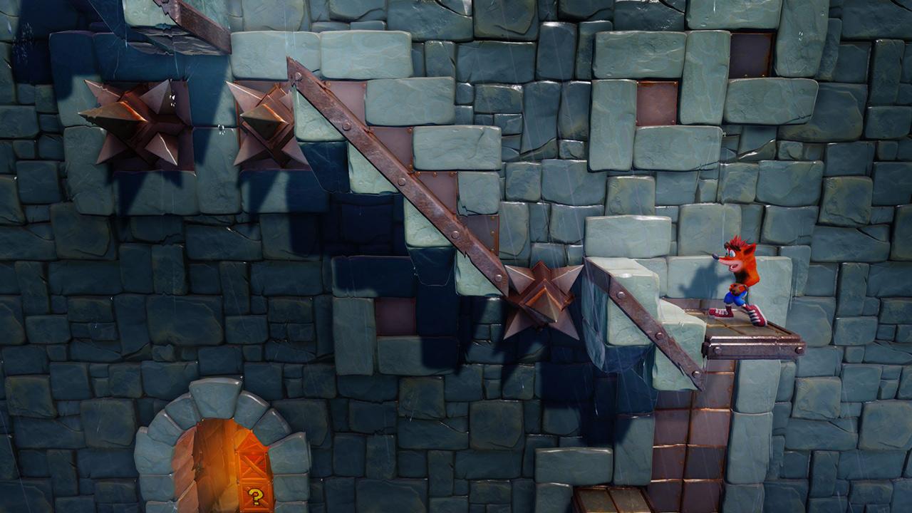 Скриншот №7 к Crash Bandicoot N. Sane Trilogy - эпизод Stormy Ascent