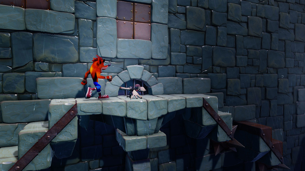 Скриншот №4 к Crash Bandicoot N. Sane Trilogy - эпизод Stormy Ascent