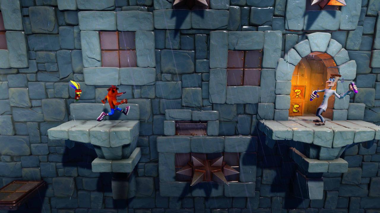 Скриншот №9 к Crash Bandicoot N. Sane Trilogy - эпизод Stormy Ascent