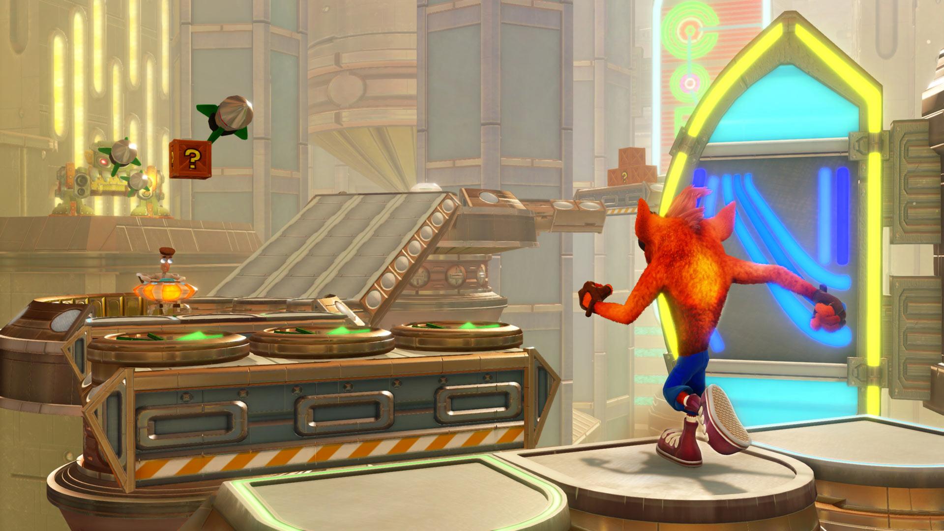 Скриншот №3 к Crash Bandicoot N. Sane Trilogy - эпизод Future Tense