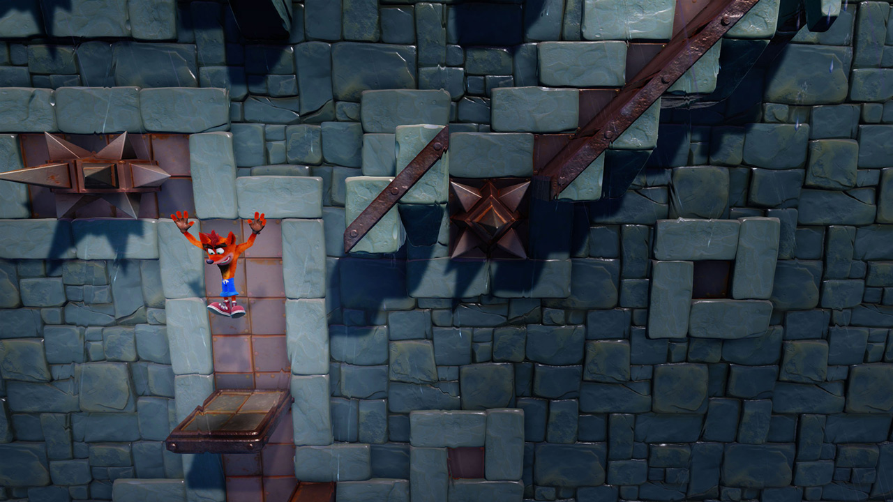 Скриншот №6 к Crash Bandicoot N. Sane Trilogy - эпизод Stormy Ascent