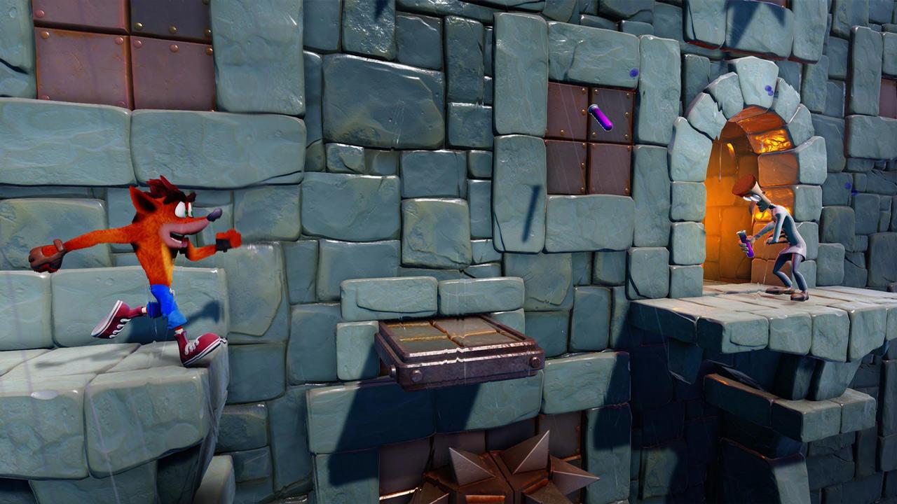 Скриншот №2 к Crash Bandicoot N. Sane Trilogy - эпизод Stormy Ascent
