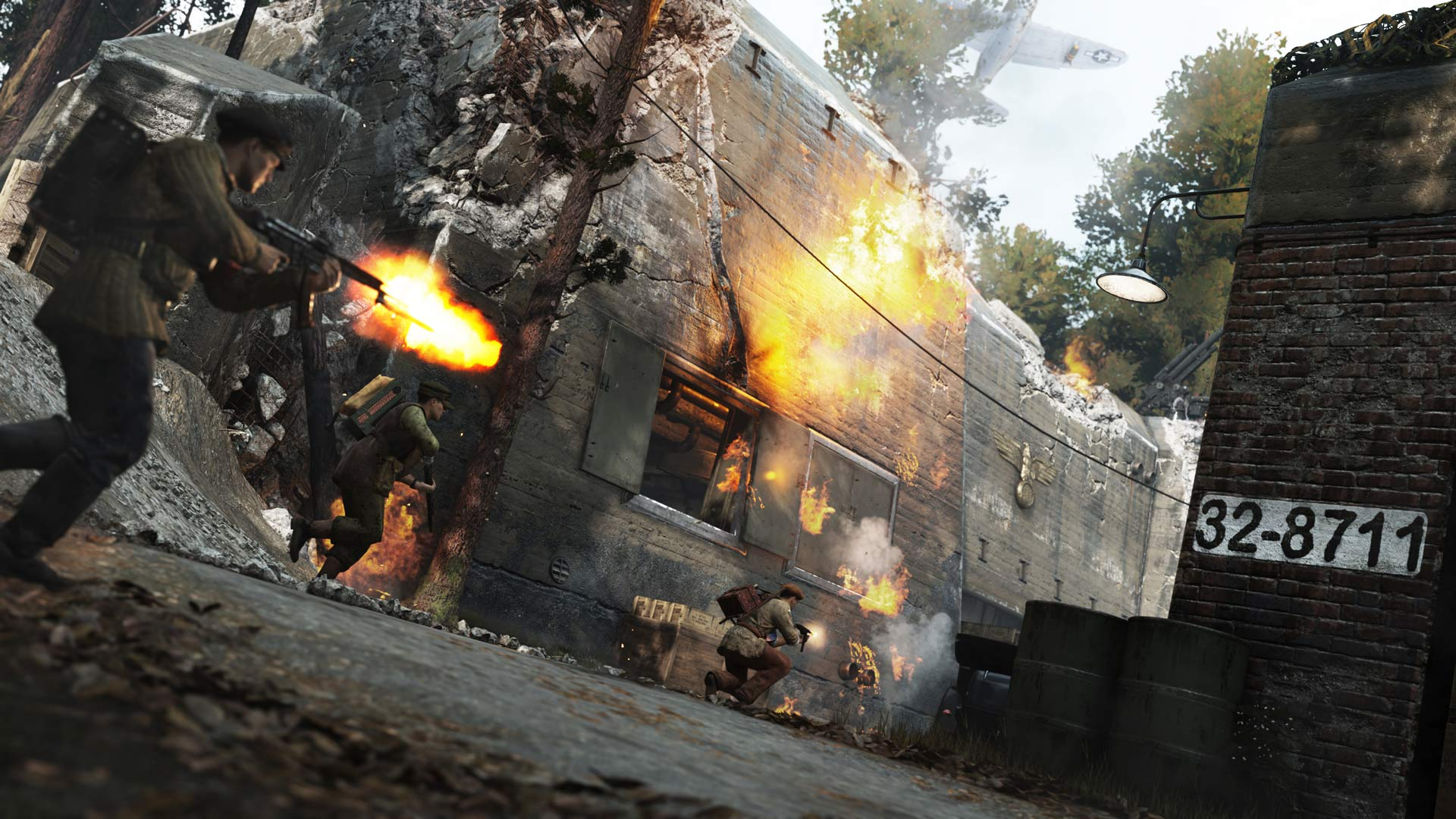 Скриншот №9 к Call of Duty WWII - сезонный абонемент
