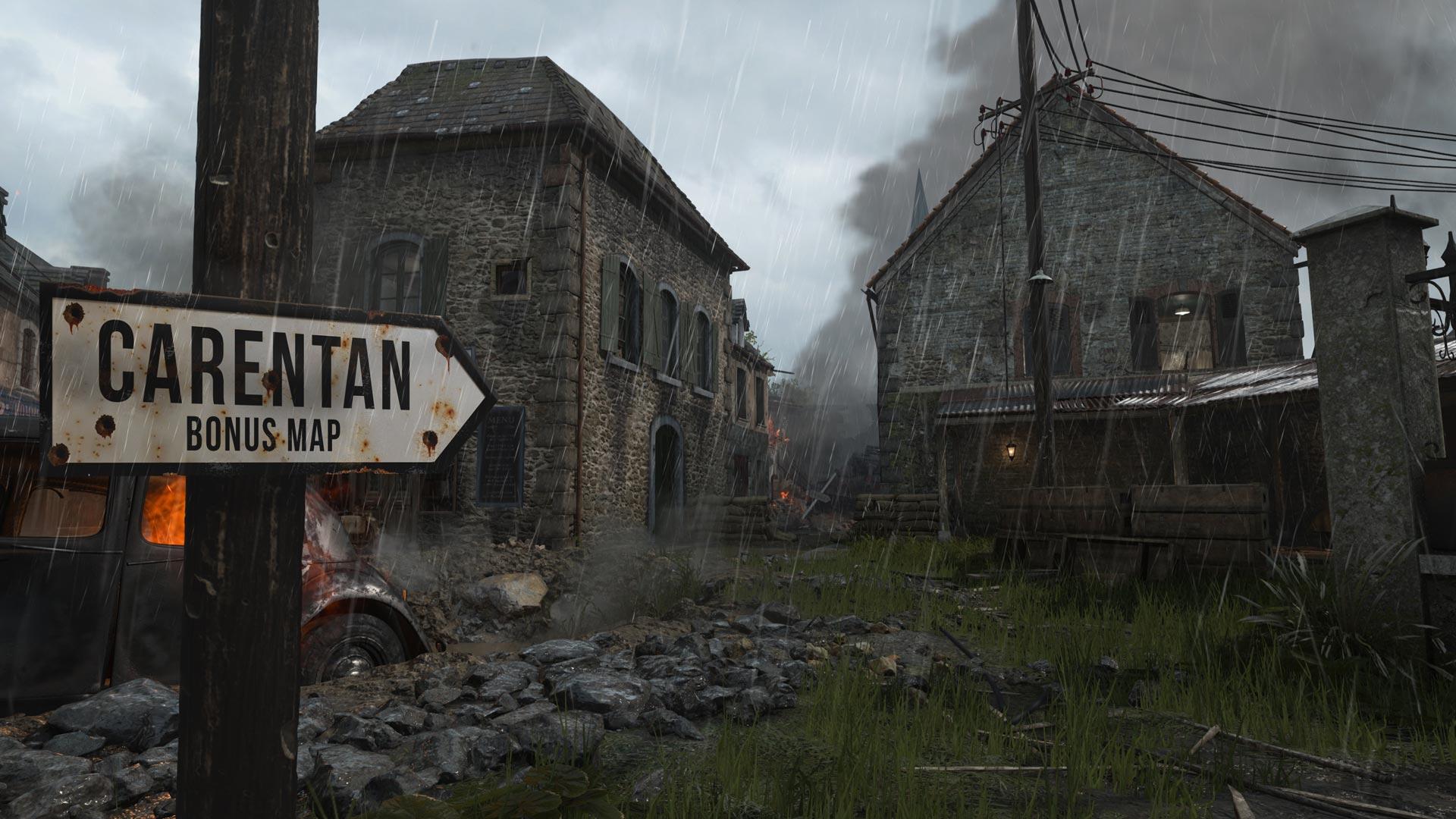 Скриншот №1 к Call of Duty WWII - сезонный абонемент