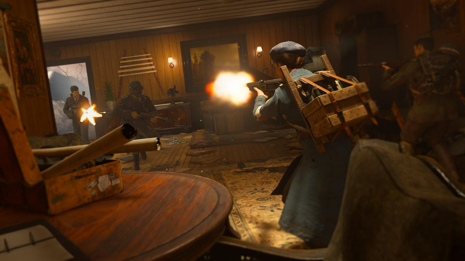 Скриншот №10 к Call of Duty WWII - сезонный абонемент